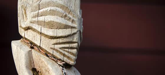 Cook Islands: Tangaroa Statue