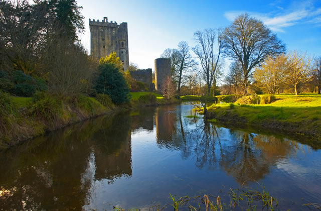 Blarney Castle, a day trip from Cork