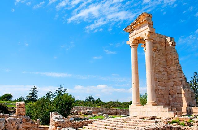 Ruins of the Sanctuary of Apollo Hylates, near Limassol