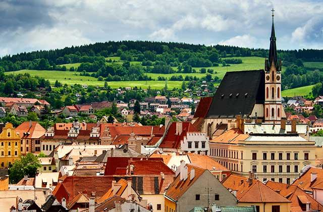 The Rooftops of Ceský Krumlov