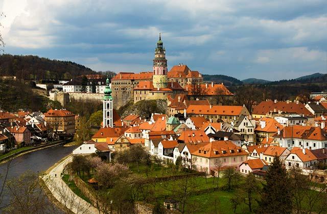 The Skyline of Ceský Krumlov