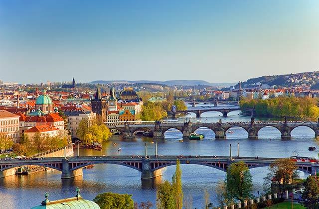 The Danube, Prague