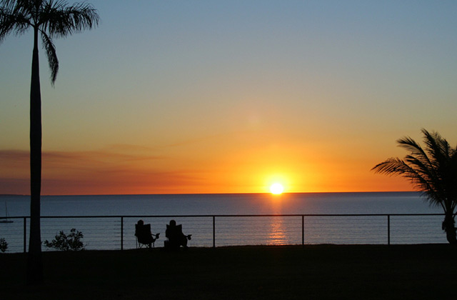Sunset over Darwin