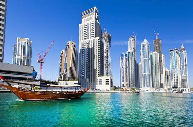 Skyline, Dubai