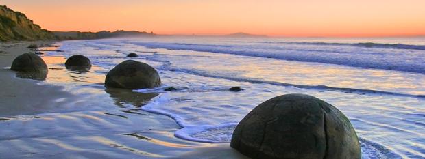 Coastline Dunedin New Zealand