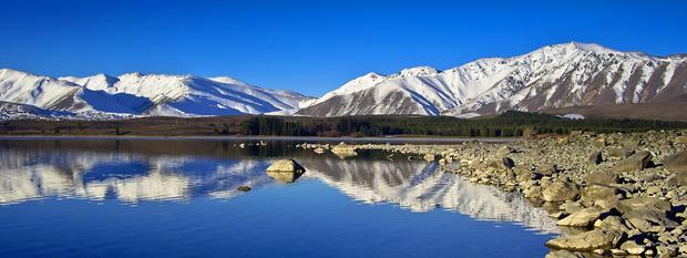 Lake Dunedin New Zealand