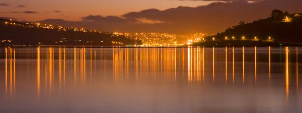 Dusk Dunedin New Zealand