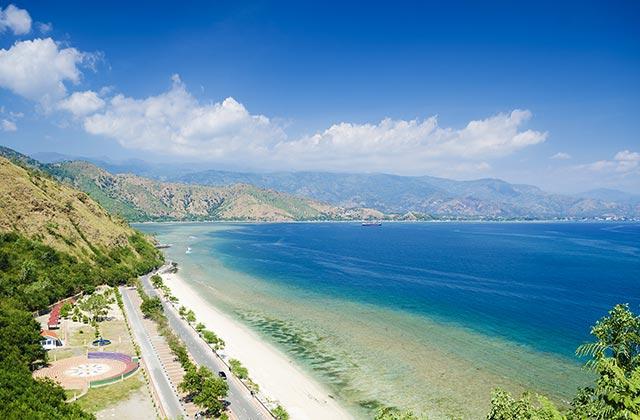 Areia Branca Beach, near Dili