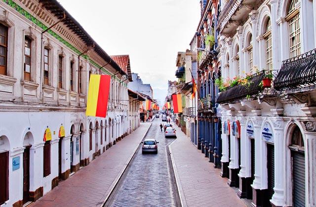 Colonial Architecture, Cuenca, Ecuador