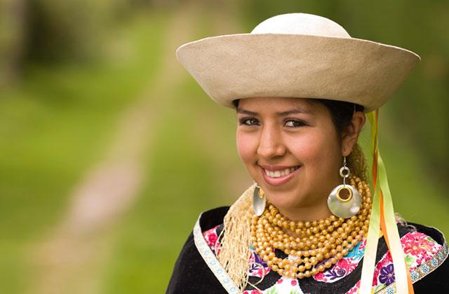 Ecuadorian Traditional Dress