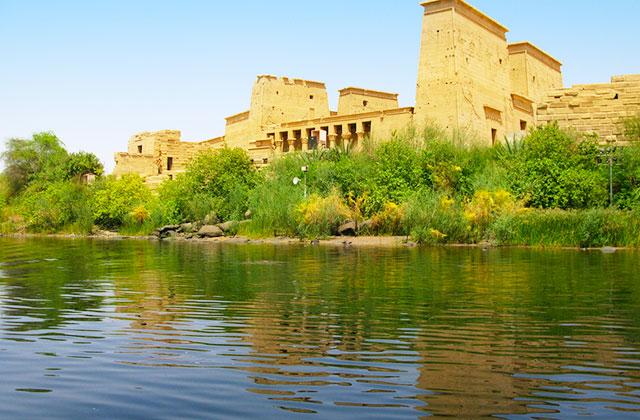 The Nile River, Aswan