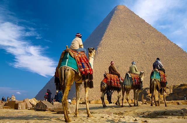 Take a Camel Ride, Giza Plateau