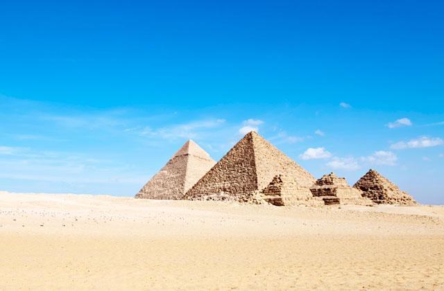 The Pyramids of Giza