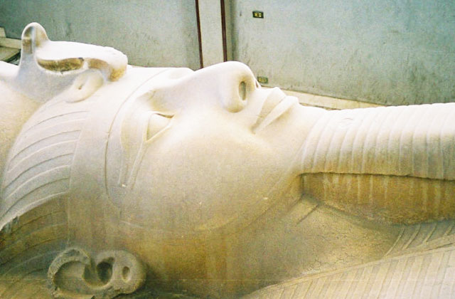 A Statue of Ramesses II, Memphis