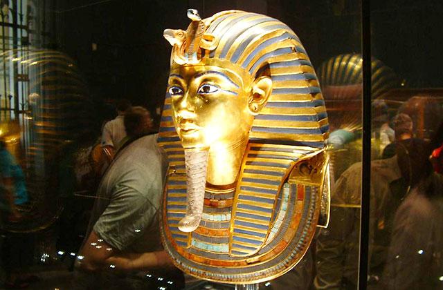 Tutankhamen's Mask, Cairo Museum