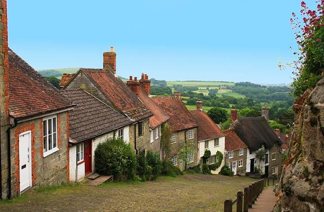 Charming British Village
