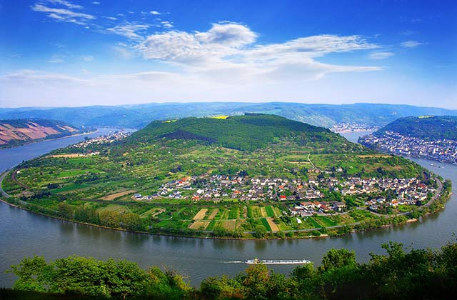 The Rhine Valley, Germany