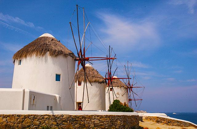 Windmills of Mykonos, Greece | by Flight Centre's Jani Burden