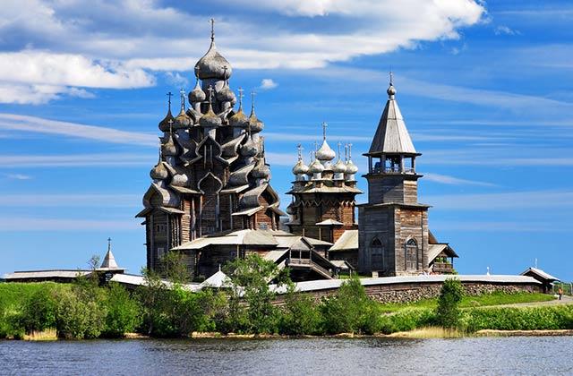 Wooden Churches, Kizhi, Lake Onega, Russia
