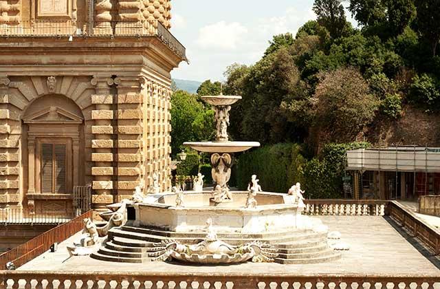 The Palazzo Pitti