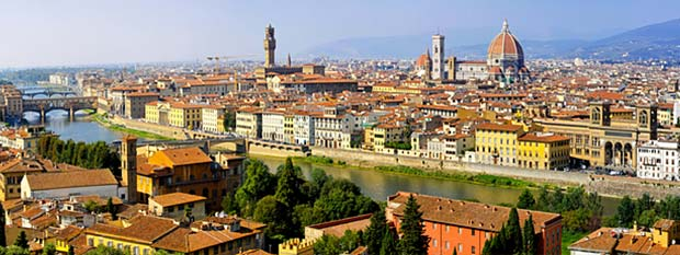 Arno River Florence Italy