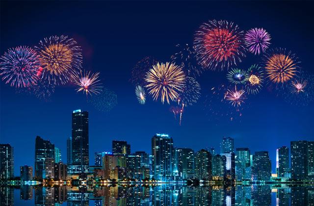 Fireworks, Miami