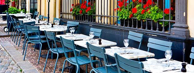 France tourism - cafe