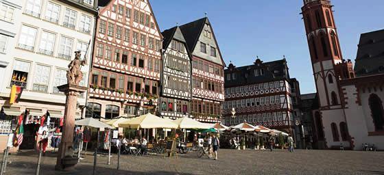 Frankfurt: Romerberg Plaza