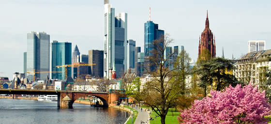 Frankfurt: City Skyline