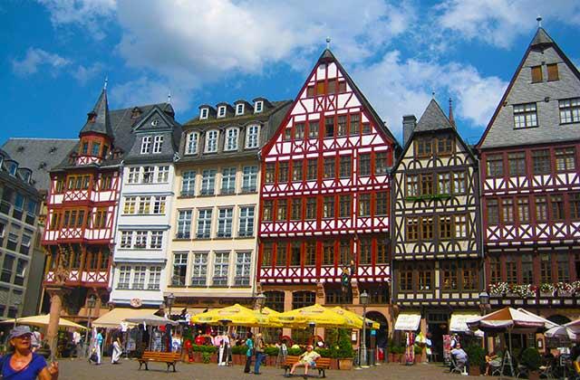 Medieval Architecture, Frankfurt   by Flight Centre's Inken Piroth