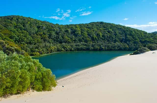 Beautiful Perched Lake