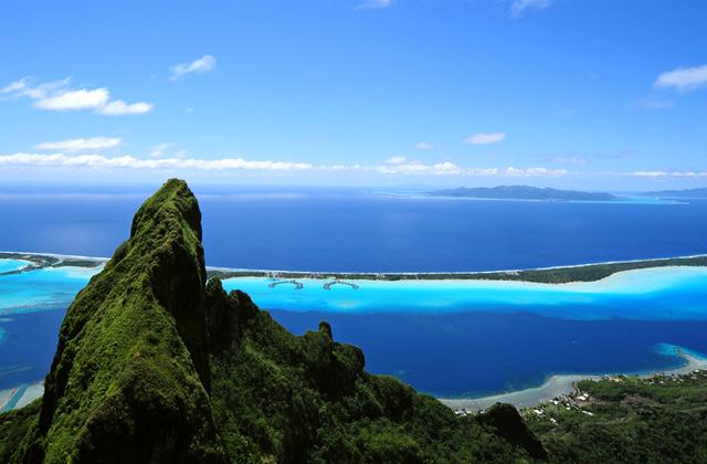 Mt Otemanu, Bora Bora