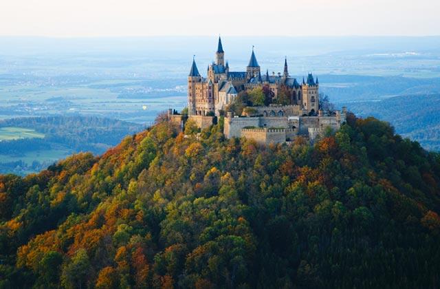 Hohenzollern Castle, near Stuttgart