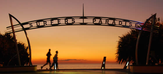 Fly to Gold Coast and explore Surfers Paradise