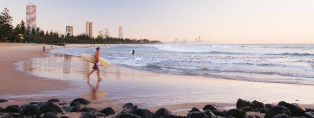 Gold Coast Attractions - Burleigh beach