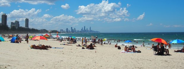 Gold Coast Attractions - Burleigh beach