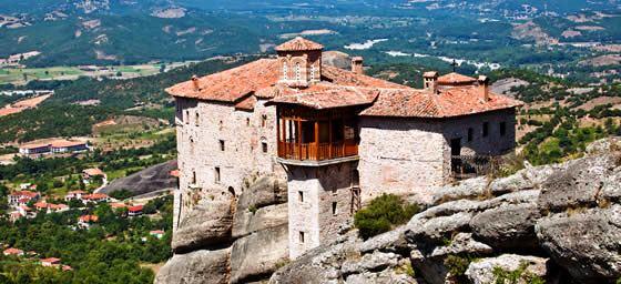 Greece: Rousanou Monastery Meteora