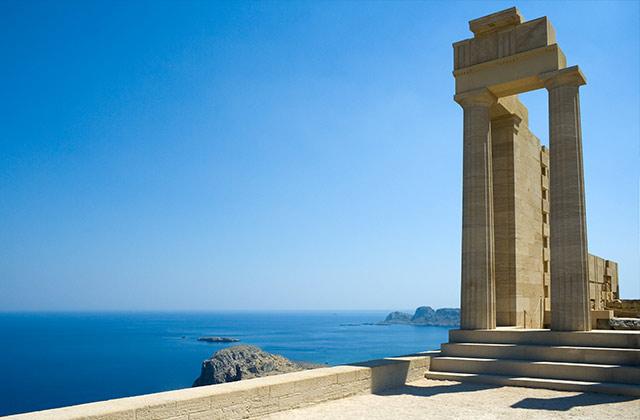 Temple of Athena Lindia, Lindos, Rhodes