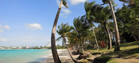 Guam: Beach