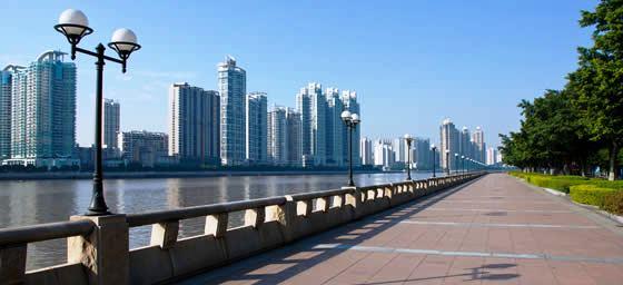 Guangzhou: Pearl River Walkway