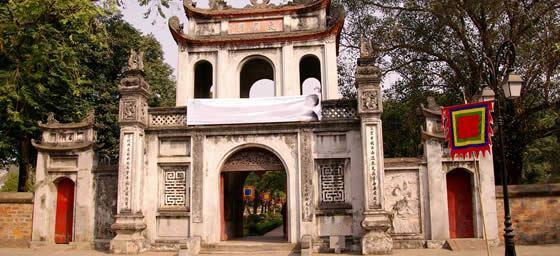 Hanoi: Temple of Literature