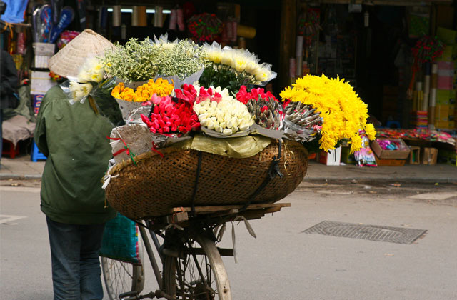 Flower Vendor, Hanoi   by Flight Centre's Olivia Mair