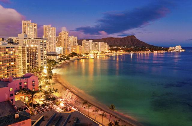 Honolulu at Twilight