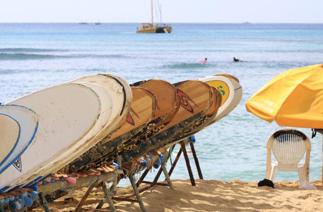 Long Boards, Waikiki Beach | by Flight Centre's Stephen Bullock