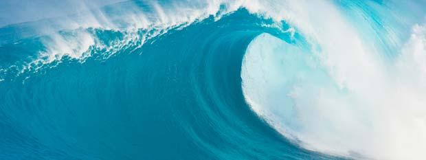 Hawaii surf break