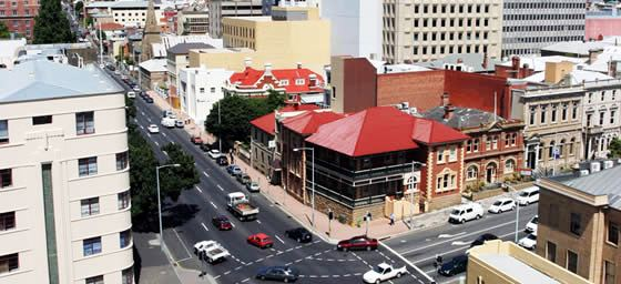 Hobart: Street