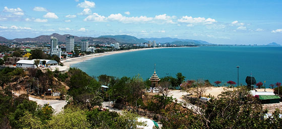 Hua Hin: View from Khao Takiab