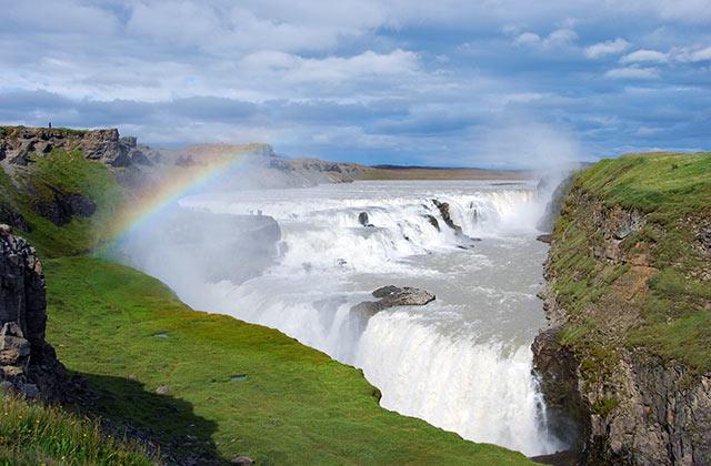 Gullfoss Waterfall, Hvítá