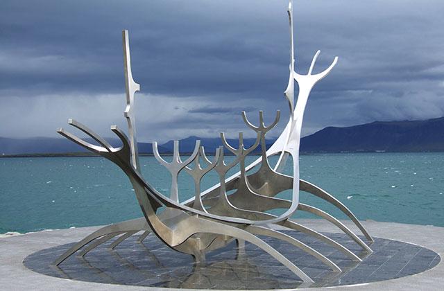 The Solfar Suncraft Sculpture, Reykjavik