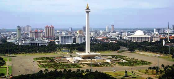 Jakarta:  National Monument or Monumen Nasional